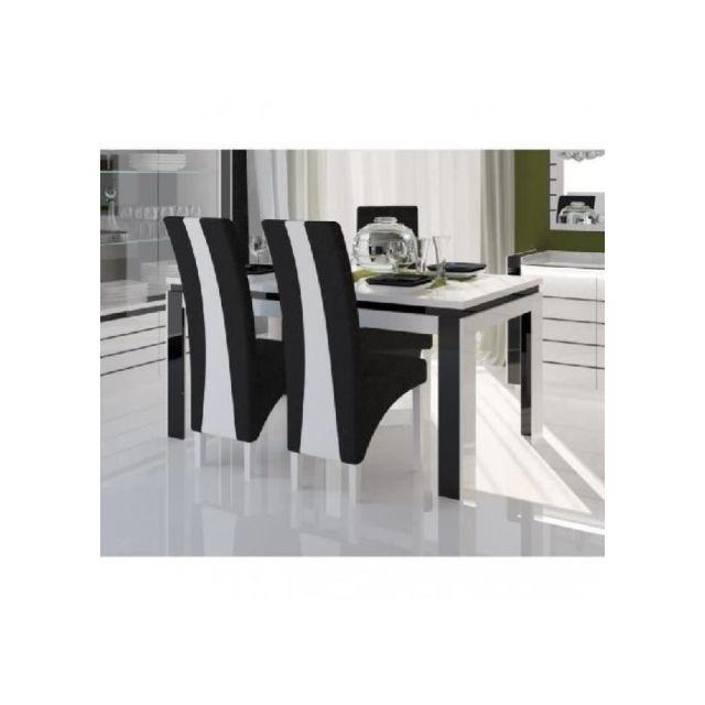 Table A Manger Avec Chaise Pas Cher.Price Factory Table 160 Cm 4 Chaises Lina Table Pour