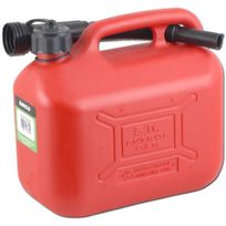 Arnold - Jerrican de transport de carburant 5,0 litres, rouge - 6011-X1-7003