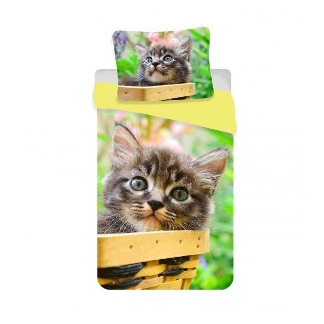 home chaton tigr parure de lit chat pas cher achat vente parures de lits rueducommerce. Black Bedroom Furniture Sets. Home Design Ideas