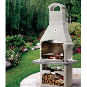 lekingstore barbecue en pierre salina 2 non cr pi pas cher achat vente barbecue b ton. Black Bedroom Furniture Sets. Home Design Ideas