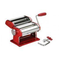 Equinox - Machine à pâtes Chrome et Rouge