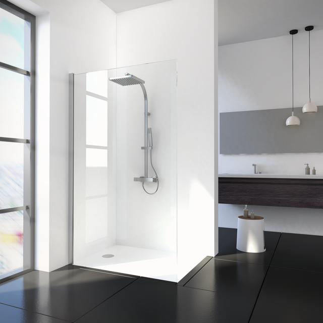 schulte paroi de douche fixe 90x200 cm paroi de douche. Black Bedroom Furniture Sets. Home Design Ideas