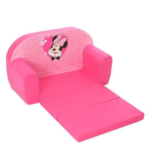 FAUTEUIL BEBE - CANAPE BEBE MINNIE Canapé Mousse Sofa - Disney Baby
