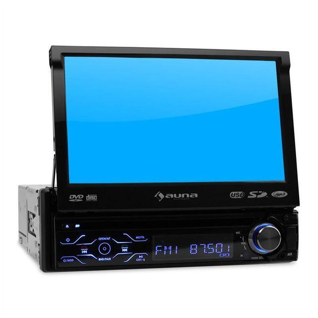 AUNA MVD-180 Autoradio Écran Lecteur DVD Bluetooth