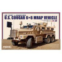 Meng Models - Maquette Véhicule Militaire : Us Cougar 6x6 Mrap