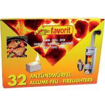 Favorit - Allume barbecue-cheminée x32