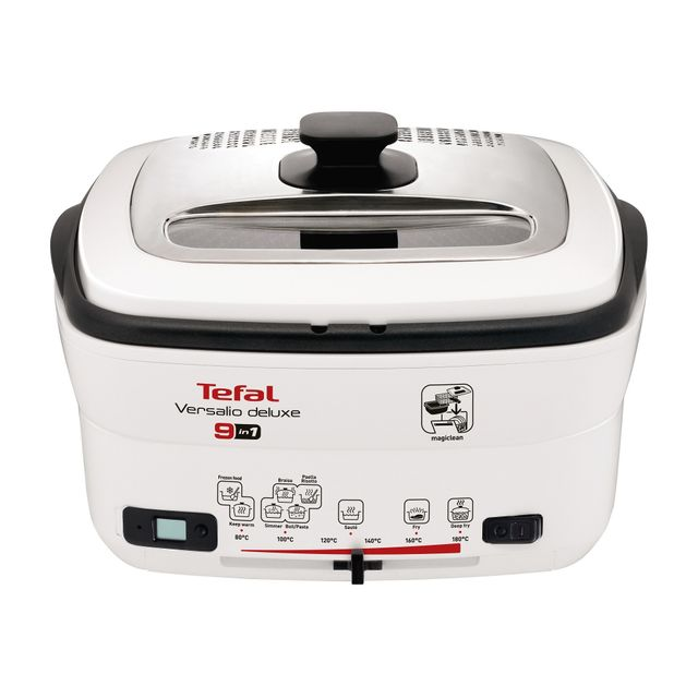 TEFAL Friteuse Versalio deluxe 9 - FR495070 - Blanc