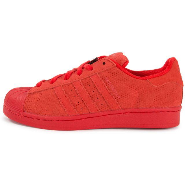 Adidas originals Superstar Multicolor W Rouge pas cher