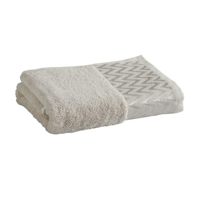 TEX HOME Drap de bain POLO en coton Drap de bain POLO en coton 100x150 cm - beige