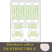 Planche de Stickers Ananas fluo pailletées - Meri Meri