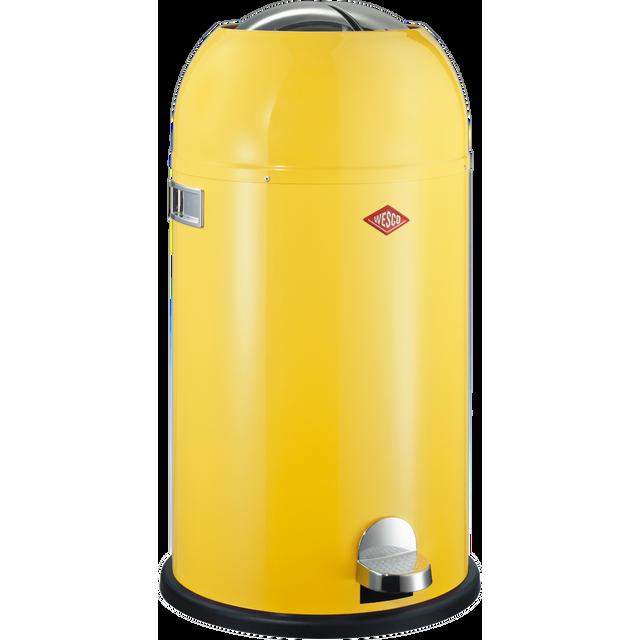 Wesco Poubelle Kickmaster 33L Jaune Citron