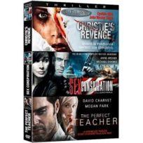 Antartic - Complot - Coffret 3 films : Christie's Revenge + Sex Conspiration + The Perfect Teacher
