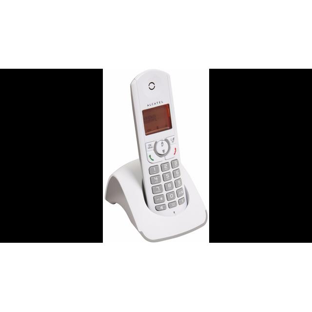 ALCATEL - Téléphone Fixe Sans fil sans répondeur F330-S Solo Gris ... 7bf25ff910f1