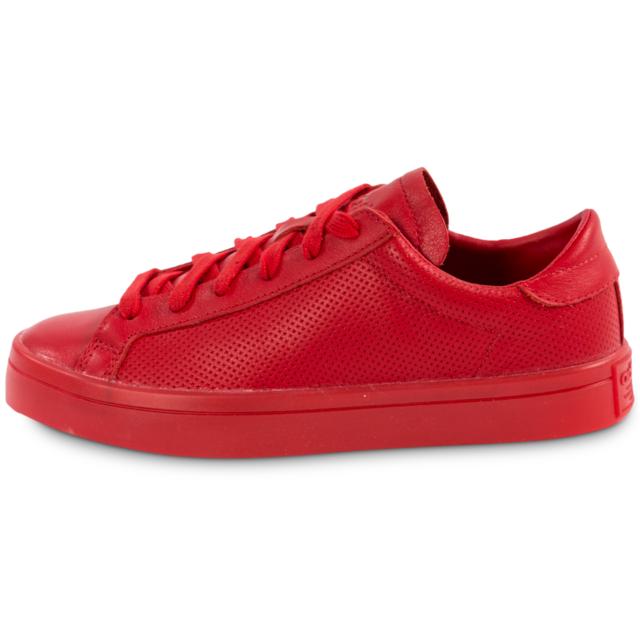 online store 4a95b 7ba72 Originals Courtvantage Adidas Basketstennis W Adicolor Rouge
