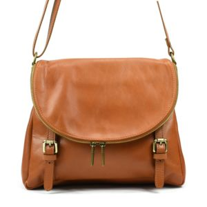 OH MY BAG Sac à main bandoulière en cuir femme - Modèle Manattan gris clair - Soldes 100% Garanti Prix Pas Cher 6DzpwEno0X