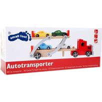 Small Foot Company (smb5v) - Small Foot Company SMB5V 4222 - VÉHICULE Miniature - Camion Transport De Voitures