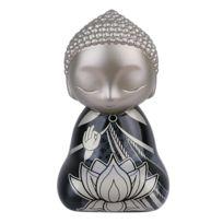 Kontiki - Statuette de collection Little Buddha Noir 30 cm