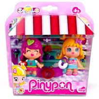 Famosa - PinyPon - Coffret 2 Figurines City Shopping