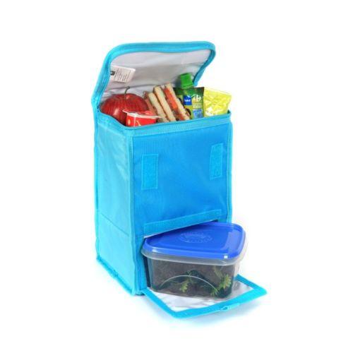 carrefour lunch box isotherme bleu pas cher achat vente glaci res rueducommerce. Black Bedroom Furniture Sets. Home Design Ideas