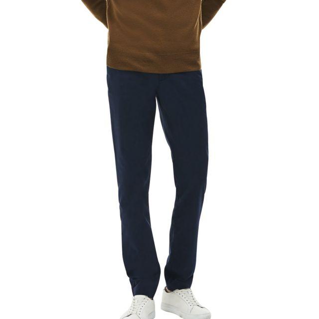 81c9dae5605c Lacoste - Pantalon gabardine chino slim fit 38 32 - pas cher Achat   Vente Pantalon  homme - RueDuCommerce