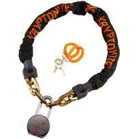 Kryptonite - Messenger Chain & Moly - Antivol - orange/noir
