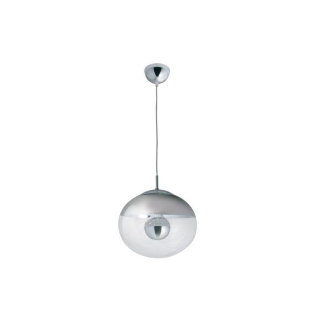 luxwomen lustre boule demi chrome Résultat Supérieur 15 Frais Plafonnier Boule Galerie 2017 Hiw6