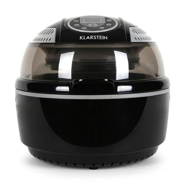 KLARSTEIN VitAir Fryer Friteuse à air chaud cuisson sans huile 1400W -noir/gris