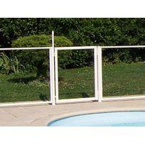 - Portillon transparent pour barrière de piscine