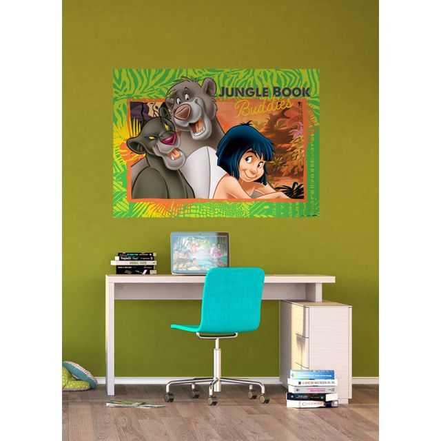 Bebe Gavroche Papier Peint Le Livre De La Jungle Disney 160x115 Cm
