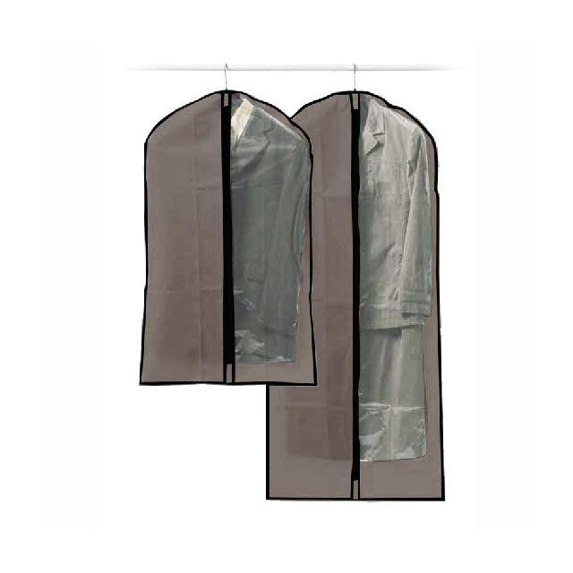 maison futee housses pour v tements lot de 2 pas cher achat vente housse de v tement. Black Bedroom Furniture Sets. Home Design Ideas