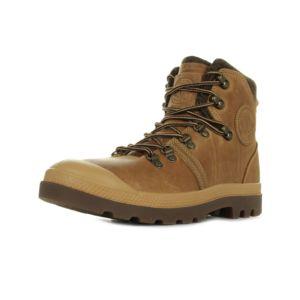 Palladium Pallabrouse Hiker Amber Gold marron - Chaussures Boot Homme