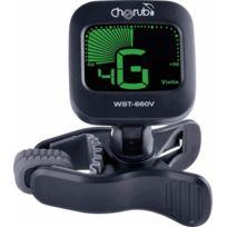 Cherub - Wst-660V - Accordeur chromatique à pince pour Violon