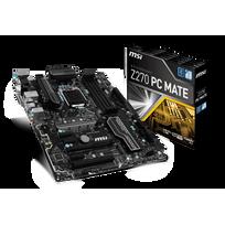 MSI - Carte mère Z270 PC MATE Socket 1151 - Chipset Z270 Kabylake