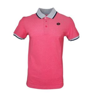 Polos à manches courtes Lotto roses homme qrUKnjpG