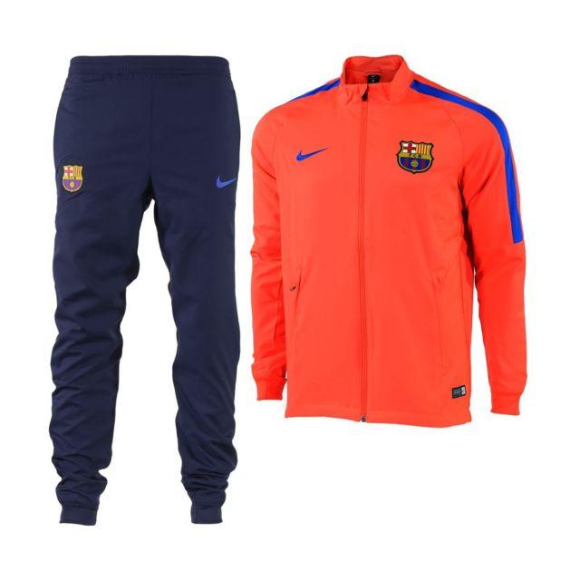 Nike Survetement De Football Fc Barcelona Dry Squad Presentation