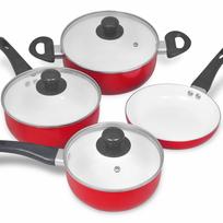 Rocambolesk - Superbe Ensemble de 7 pièces de casserole céramique neuf