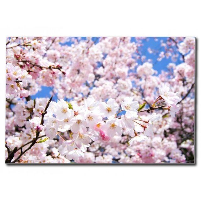 Deco Soon Tableau Fleur De Cerisier Pas Cher Achat Vente