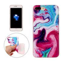 Wewoo - Coque pour le cas de protection Tpu coloré de motif en marbre d'iPhone7 Plus