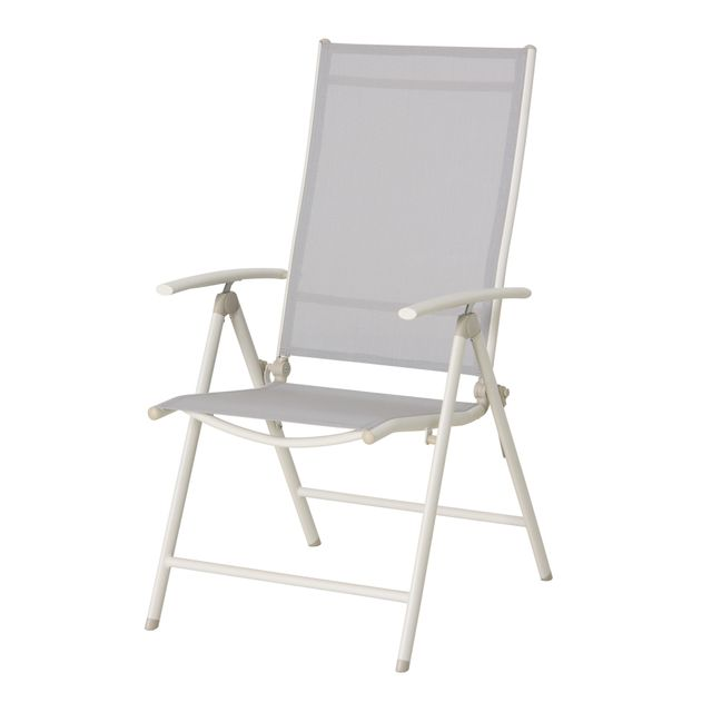 CARREFOUR - RONA - Fauteuil multipositions Taupe - pas cher ...