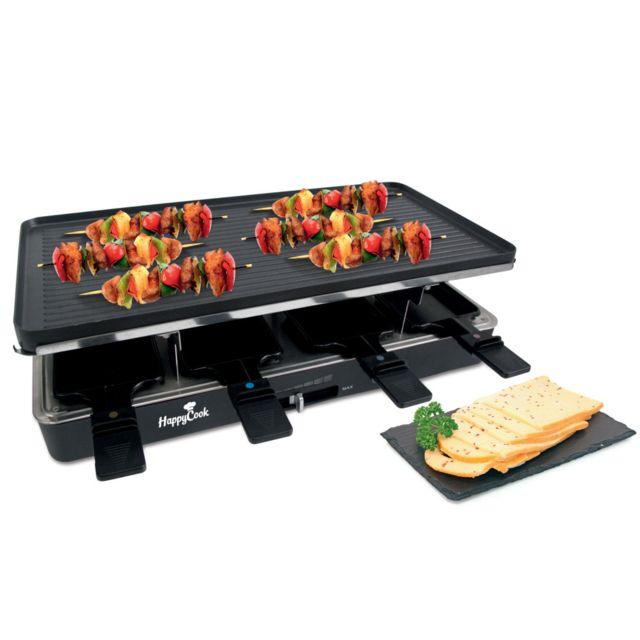 TELEFUNKEN appareil à raclette 8 personnes 1400w + grill - rcl3