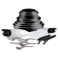 Tefal - Set de poêles et casseroles Ingenio Essential - Noir - L2009702