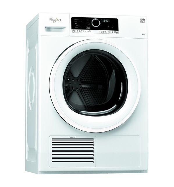 whirlpool s che linge condensation dscx90113 blanc achat s che linge condensation b. Black Bedroom Furniture Sets. Home Design Ideas