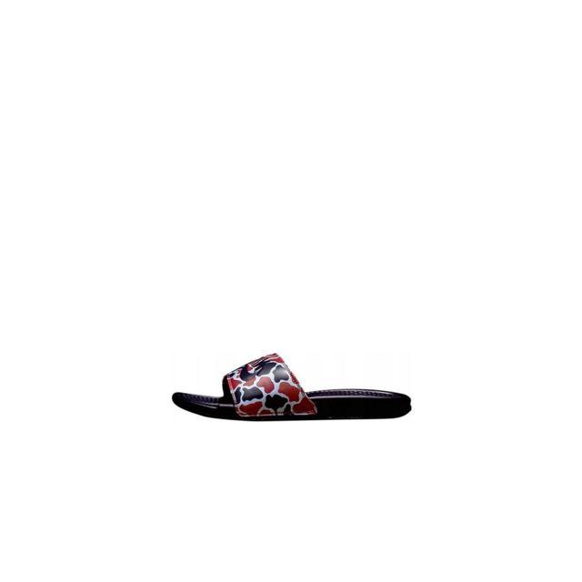 newest f3517 3a763 Nike - Sandale Benassi Jdi Print - 631261-405 - pas cher Achat   Vente  Sandales et tongs homme - RueDuCommerce