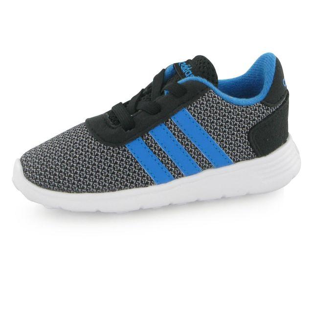 new styles 1a3a8 8dc36 Adidas Neo - Adidas Neo Lite Racer noir, baskets mode mixte
