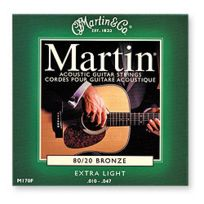 Martin Strings - Acoustic M170 Extra Light 10-47