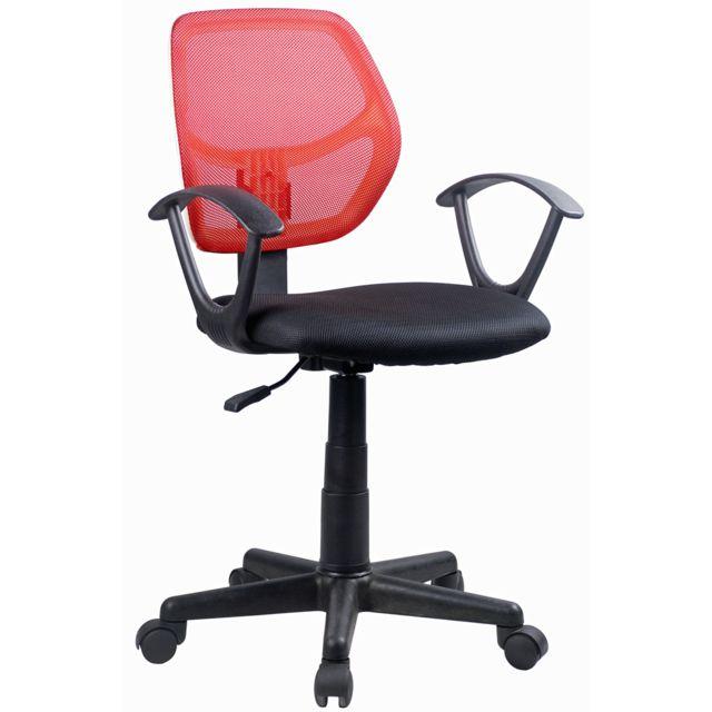 Et Bureau Ameublement Chaise Rouge Direct De Noir Azaela uT5KcJ3lF1