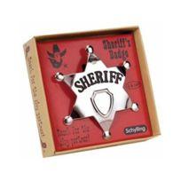 Schylling - Badge de Sheriff en métal