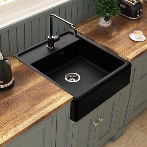 kumbad vier poser granit noir k mbad kiwi 1 bac 595x630 pas cher achat vente evier. Black Bedroom Furniture Sets. Home Design Ideas