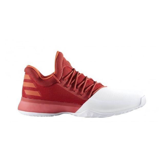 Harden Blanche Basketball Rouge Et De 1 Adidas Vol James Chaussure qAvxwI