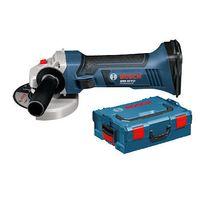 Bosch - Meuleuse sans fil 18V livrée sans batterie ni chargeur en coffret L-BOXX GWS 18 V-Li Solo 060193A308
